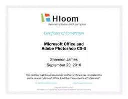 certificate of completion free template word 18 free certificate of completion templates utemplates