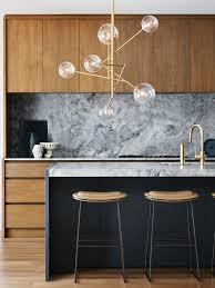 Kitchen Lighting Perth 6 Light Pendant In Brass Clear