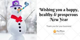 best wishes for safe healthy happy and prosperous new year from