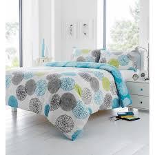 Single Bed Sets Fusion Kiera Single Duvet Cover Quilt Set Mineral Teal Helen S