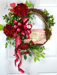 lovely valentine front door accessories decorating ideas