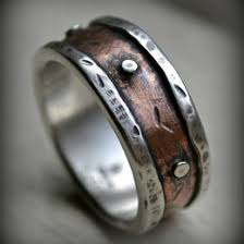 rustic mens wedding bands rustic wedding band ideas collections