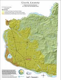 Portland Earthquake Map by Clark Regional Emergency Services Agency U2013 Hazard Maps