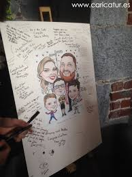 wedding signing board wars and kilkenny hurling caricatures ireland