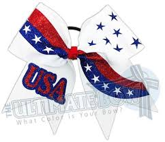 white and blue bows seasonal and festive hair bows the ultimate bow