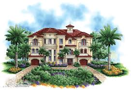 High End Home Plans by Grand Radial Staircase 66194we Architectural Designs House Plans