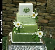 wedding cake green shades of green wedding cake provided by couture cakes