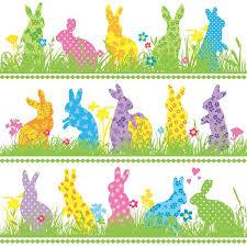 easter napkins easter bunny parade paper napkins pipii