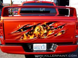 Dodge Truck Ram Head Hood Ornament - trucks killer paint airbrush studio