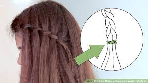 How To Build A Small Shed Step By Step by How To Make A Cascade Waterfall Braid 10 Steps With Pictures