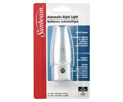 automatic night light with sensor sunbeam 4w automatic night light with sensor clamshell l image