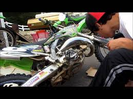 how to change clutch on a dirtbike hd youtube