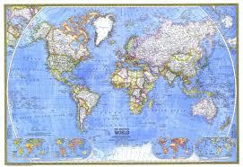 Political World Map Political World Map 1975 Maps Com