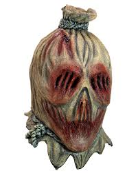 scarecrow mask for halloween horror shop com