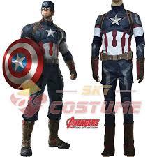 Army Men Halloween Costume Aliexpress Buy Avengers Age Ultron Captain America
