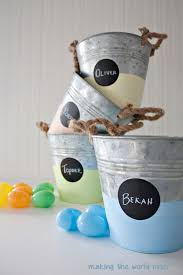 personalized buckets personalized easter buckets