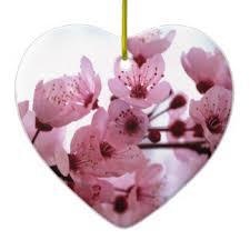 cherry blossom tree ornaments keepsake ornaments zazzle