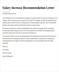 format of request letter to company request for salary increment letter format download sle request