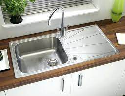 drop in kitchen sink with drainboard drop in stainless steel kitchen sinks for best drop in kitchen sinks