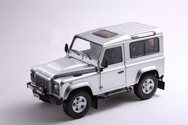 nepal new land rover new 1 18 kyosho car model land rover defender 90 indus silver