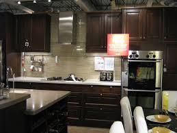 Espresso Cabinets Kitchen Kitchen Style Espresso Cabinets Beige Kitchen Painted Wall