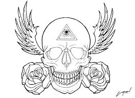flash skull by sparc666 on deviantart