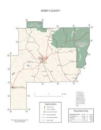 Map Of Marion Ohio by Maps Of Perry County