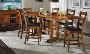 Mango Dining Table Iron Solid Mango Counter Height Dining Set Haynes