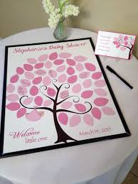 baby shower sign in baby shower guest 16x20 sign in tree poster baby shower