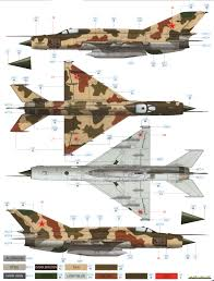 here is our color profile and paint guide for the mig 21r fishbed