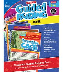 the color of water book guided reading infer resource book grade 5 6 carson dellosa