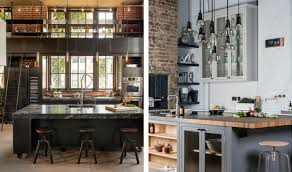 industrial home interior vintage industrial style