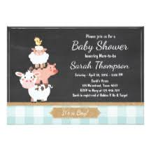 country baby shower country baby shower invitations announcements zazzle