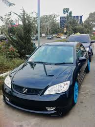 mobil honda civic gettinlow stance from medan teuku sabri u0027s black honda civic