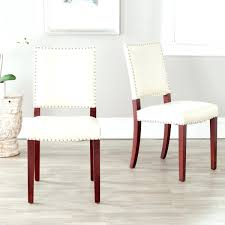 nailhead trim dining chairs dining chairs save discount faux leather nailhead dining chairs