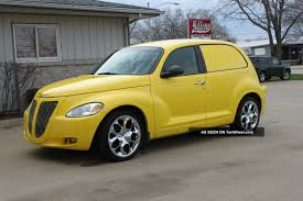 2001 pt cruiser sedan delivery custom built all steel head turner