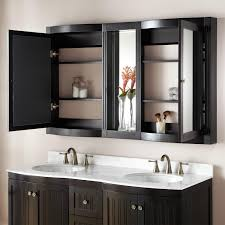 Bathroom Ideas Bathroom Medicine Cabinet With Black Mirror On The 60