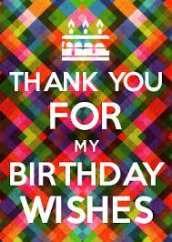 thank you for my birthday wishes zoeken kaarten