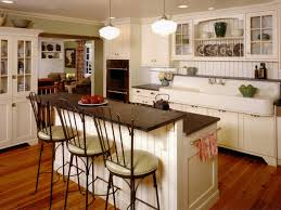 Kitchen Island Bar Stool Images Antique White Kitchen With Large Island Vintage Kitchen