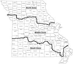 Oregon Time Zone Map by Duck Zones And Season Dates Mdc Hunting And Fishing