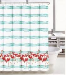 Flamingo Shower Curtains Coastal Shower Curtains Open Travel