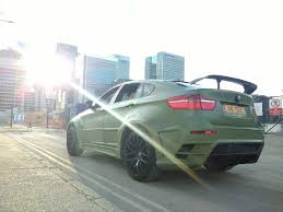 matte teal car bmw x6 e71 e72 matte army green and gloss black 3 5d auto remapped
