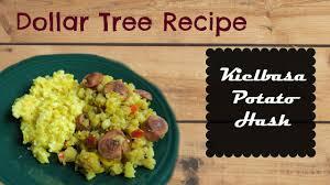 dollar tree recipe kielbasa potato hash