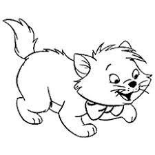 15 free printable kitten coloring pages