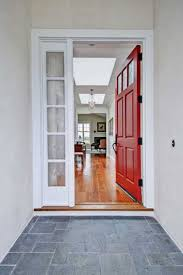 open the door to color welcome summer visitors with a red front