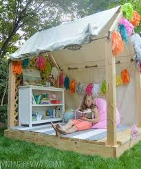 How To Build A Backyard Fort by 25 Playful Diy Backyard Projects To Surprise Your Kids Amazing