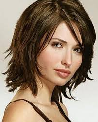medium length hair cuts overweight shoulder length haircuts with bangs for oval faces google search