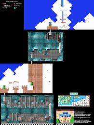 Super Mario World Map Super Mario Bros 3 World 5 Tower Map Png V1 0 Neoseeker