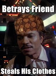 Lando Calrissian Meme - i think my boss has great taste in motivational slogans rebrn com