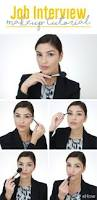 how to do my hair and makeup for a job interview makeup vidalondon